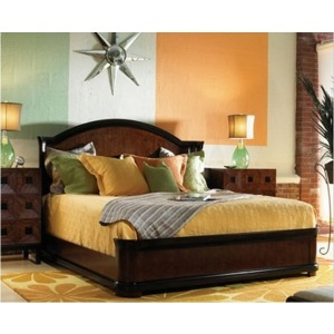 Curved Panel Bed, King King