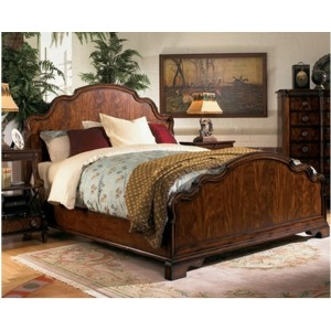 Low Country Panel Bed, King King
