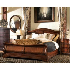 Sleigh Bed, King King