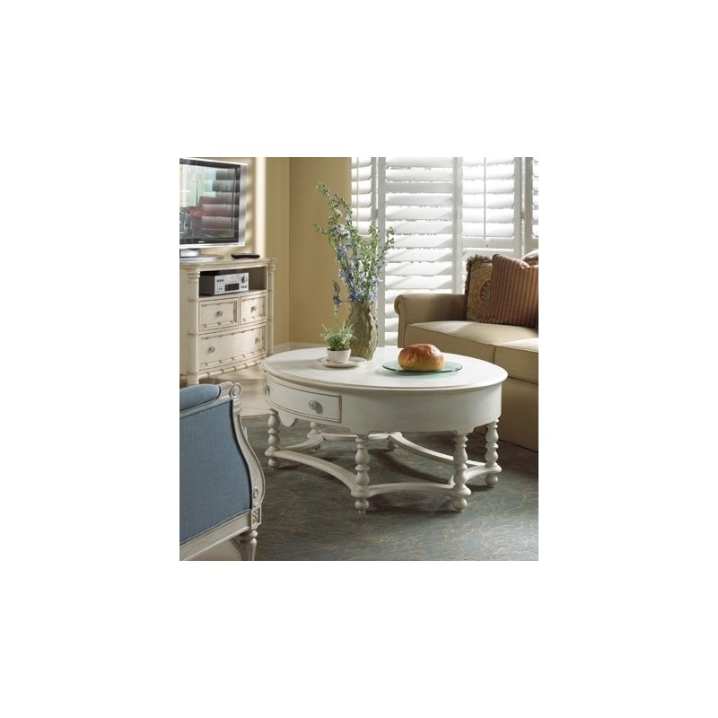 1051-932 Oval Cocktail Table