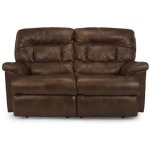 Great Escape Leather Double Reclining Love Seat