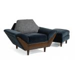 Thunderbird Fabric Chair