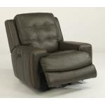Wicklow Leather Power Gliding Recliner W/ Power headrest