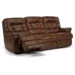 Great Escape Leather Double Reclining Sofa