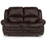 Capitol Leather Power Reclining Love Seat