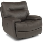 Evian Leather Power Glider Recliner