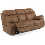 Como NuvoLeather Reclining Sofa