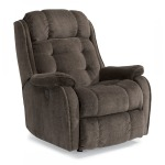 Fabric Power Rocking Recliner