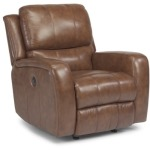 Hammond Leather Power Glider Recliner