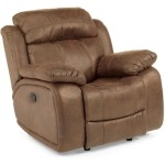 Como NuvoLeather Glider Recliner