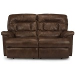 Great Escape Leather Power Reclining Love Seat