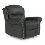Fabric Power Gliding Recliner