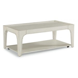 Harmony Rectangular Coffee Table w/Casters