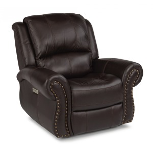 Patton Leather Power Recliner w/Power Headrest