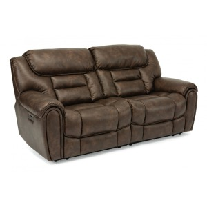 Buster Power Reclining Loveseat with Power Headrests