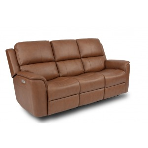 Henry Power Reclining Sofa with Power Headrests and Power Lumbar