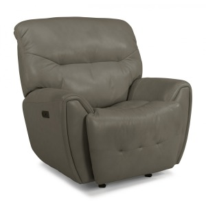 Blaise Leather Power Gliding Recliner w/Power Headrest
