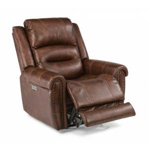 Oscar Fabric Power Recliner w/ Power Headrests