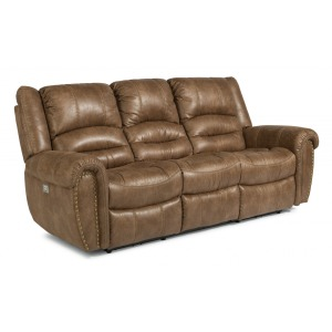 Town Power Reclining Sofa w/Power Headrests