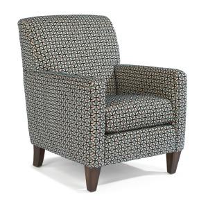 Cute Square Arm Fabric Chair