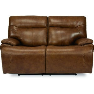 Saddle Power Reclining Loveseat with Power Headrests