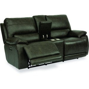Horizon Power Reclining Loveseat w/ Console, Pwr Headrests