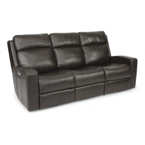 Power Reclining Sofa w/Power Headrests
