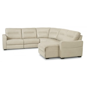 Monet 4 PC Power Reclining Sectional w/Power Headrests