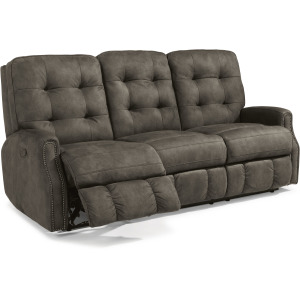 Devon Reclining Sofa with Nailhead Trim