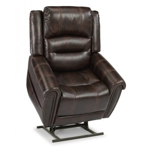 Oscar Fabric Power Lift Reclining Chair w/Power Headrests