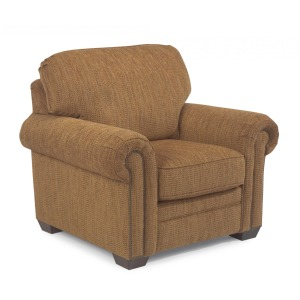 Harrison Fabric Chair w/Nailhead Trim