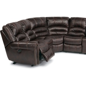 Crosstown 3 PC Leather Power Reclining Sectional