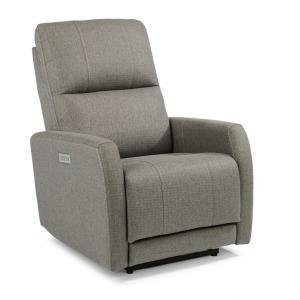 Sadie Fabric Power Recliner w/power Headrests