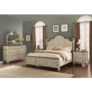Plymouth King Poster 4 PC Bedroom Set