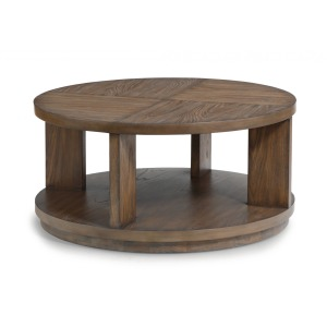 Maximus Round Cocktail Table w/Casters