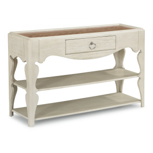 Miramar Scroll-Leg Sofa Table