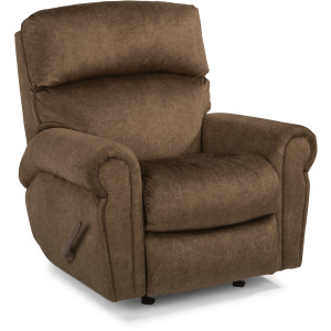 Langston Fabric Swivel Gliding Recliner