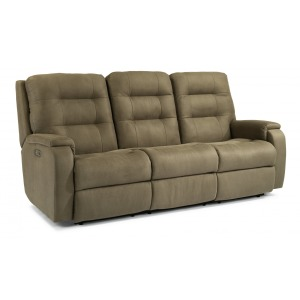 Arlo Power Reclining Sofa w/Power Headrests & Lumbar