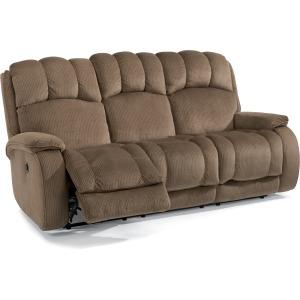 Fabric Power Reclining Sofa