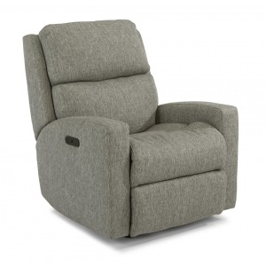 Catalina Fabric Power Rocking Recliner w/Power Headrest