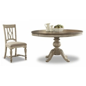 Plymouth 5 PC Pedestal Dining Set
