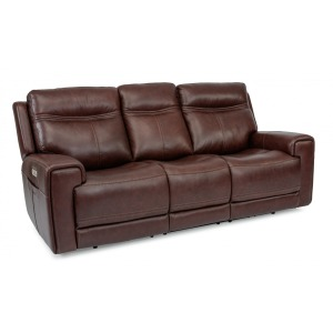 Bravo Power Reclining Sofa w/Power Headrests