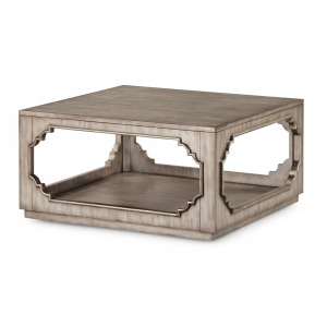 Vogue Square Cocktail Table w/Casters
