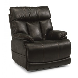 Clive Fabric Power Recliner w/Power Headrest