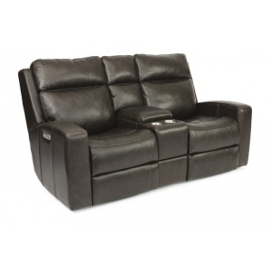 Cody Power Reclining Loveseat w/Console & Power Headrests