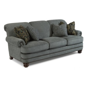 Bay Bridge Fabric Sofa w/Nailhead Trim