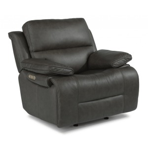 Apollo Leather Power Gliding Recliner w/Power Headrest