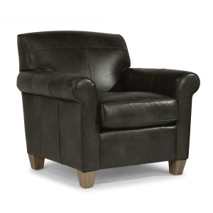 Dana High Leg Leather Chair