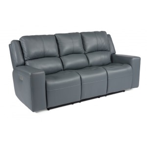 Nelson Power Reclining Sofa w/Power Headrests
