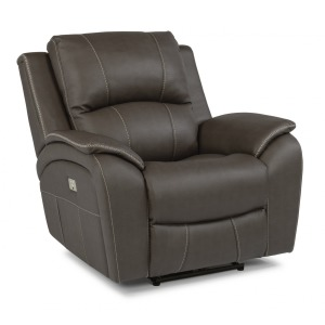 Marina Fabric Power Recliner w/Power Headrest